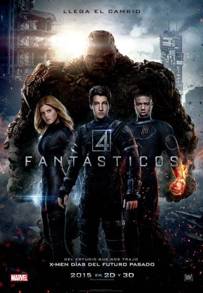 Cartel de «Los cuatro fantásticos». © 2015 20th Century Fox. Todos los derechos reservados. 'Fantastic 4' Poster. © 2015 20th Century Fox. All rights reserved.